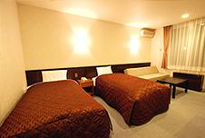 ホテルセルリアンアルペン 部屋