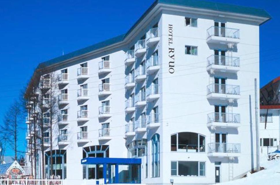 ホテル竜王 外観