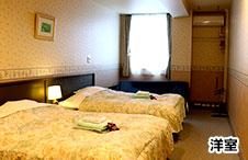ホテルリゾートインマリオンシナノ 洋室