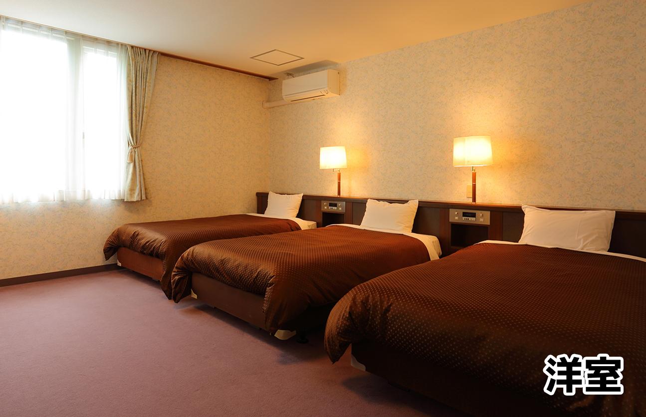 ホテル オークフォレスト 洋室