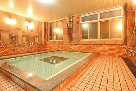 ロッヂ栂池 大浴場
